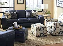 Navy Leather Sofa by Ottoman Blue Leather Chair And Ottoman Blue Leather Sectional