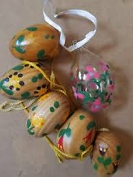 decorative easter eggs for sale painted easter egg tree wooden and glass eggs ebay