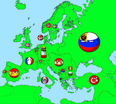Ww1 Map Of Europe by Wwi In Countryballs Part 1 The Great War Youtube