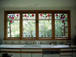 stained glass windows for kitchen cabinets stained glass gallery