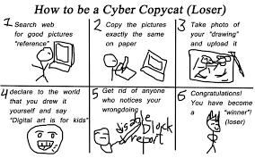 Copy Cat Meme - cyber copycat meme by adhiesc on deviantart