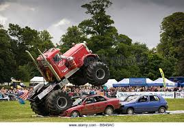monster truck jump stock photos u0026 monster truck jump stock images