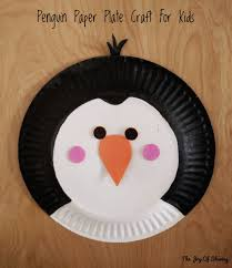Paper Plate Craft Ideas For Kids The Joy Of Sharing Paper Plate Penguin Craft