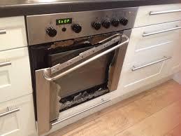 glass oven door shattered my oven just exploded wellthatsucks