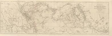 Map Of The United States Great Lakes by Maps From The Journal Of The Royal Geographical Society Of London