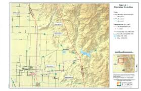 Map In Spanish Sce U0027s San Joaquin Cross Valley Loop Transmission Project A 08 05