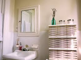 Diy Small Bathroom Storage Ideas by Small Bathroom Storage Idea With Diy Shelving Over The Toilet
