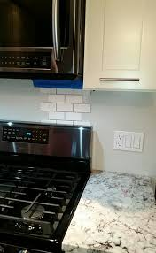 White Backsplash Tiles For My Kitchen Yes Or No - No backsplash
