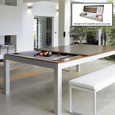 fusion pool dining table 7ft aramith fusion pool diner in black the games room company