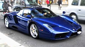 tdf blue enzo driving through