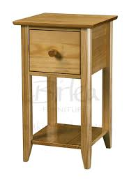 bedroom narrow bedside table small bed side table narrow bedside