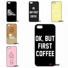 okay phone fashion ok but coffee print phone cover for xiaomi