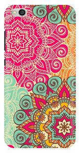 traditional design multicolour traditional design printed back case cover for xiaomi