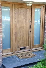 Oak Exterior Doors Front Doors External Hardwood Front Door Uk Single Front Door