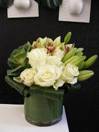 white floral arrangements the of green and white flower arrangements mondu floral