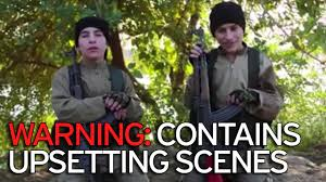 horrifying isis drone video shows child bombers smiling to