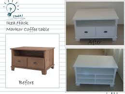 Coffee Table Ikea by Ikea Markor Coffee Table Diy Daddy Pinterest Ikea Hack