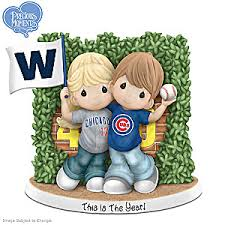 precious moments chicago cubs figurine