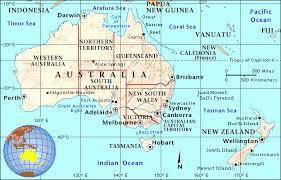 atlas map of australia grolier atlas