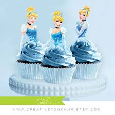 cinderella cupcake toppers cinderella cupcake toppers princess cinderella disney princess