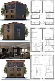 Simple Small Home Plans Small House Plan With Four Bedrooms Simple Lines And Shapes