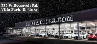 lexus loves park il luxury pre owned dealership villa park il used cars lucky motors
