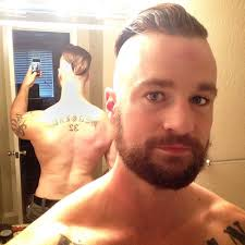 love this high and super tight haircut on a very handsome tough