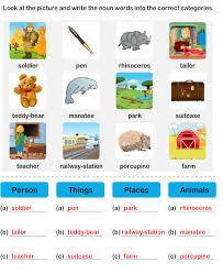 noun grade2 worksheet7 esl efl worksheets grade 2 worksheets