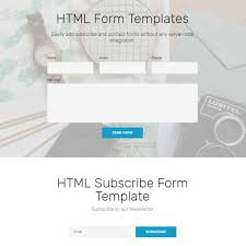 free html bootstrap form templates