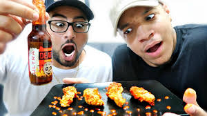 Challenge With Sauce Ghost Pepper Wings Challenge Sauce In The World