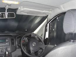 insulated cab window blinds for nv200 nissan nv200 camper van