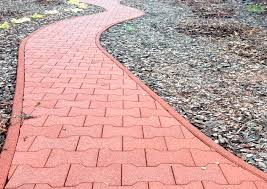 rubber interlocking pavers safety and comfort on circulation areas