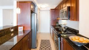 Galley Kitchen With Pass Through Towers At Longfellow Apartments Beacon Hill 72 Staniford
