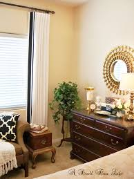 Black And White Bedroom Drapes A Stroll Thru Life Master Bedroom Drapes Are Done Tutorial
