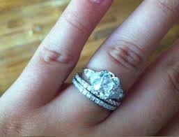 wedding ring with two bands does anyone wear wedding bands show me weddingbee