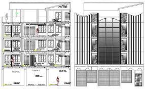 hotel floor plan dwg star hotel project elevation plan dwg file