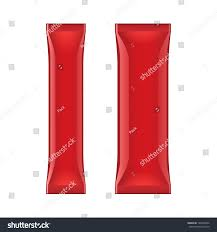 two black red foil packaging coffee stock vector 124939694