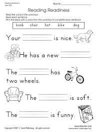 free printable first grade reading comprehension worksheets worksheets