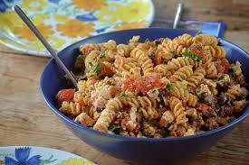 ina garten tomato stylish cuisine tomato feta pasta salad