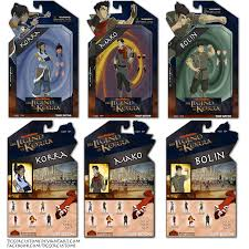 legend korra action figure packaging design tiggercustoms