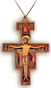 san damiano crucifix damiano crucifix necklace