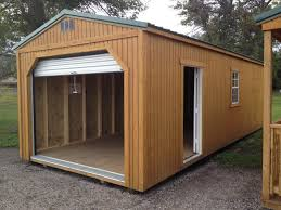 outdoor great portable garage costco for great garage idea large natural wood portable garage costco with white metal door for great garage idea