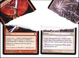 How To Make Fake Report Card - how to spot a fake 1 000 magic the gathering card motherboard