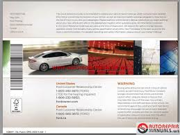 ford fusion 2015 usa workshop manual auto repair manual forum
