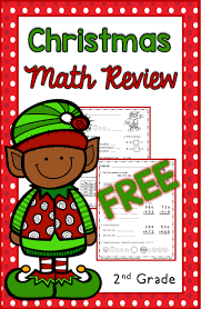 christmas math for 2nd grade free second grade math free
