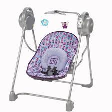 Pink Swinging Baby Chair Baby Swings Sears