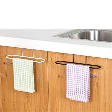 kitchen cabinet sponge holder bathroom iron towel rack kitchen cupboard hanging wash cloth