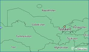 uzbekistan map in world where is tashkent uzbekistan tashkent toshkent shahri map