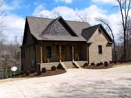 3 bedroom craftsman cottage house plan with porches