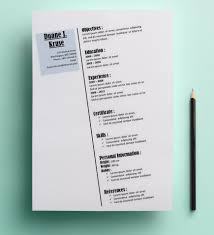 Resume Sample Ms Word by White Diagonal Resume Template For Ms Word Https Www Behance Net